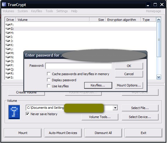 Encrypt And Hide Files With TrueCrypt