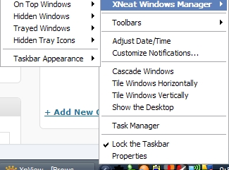 xNeat Windows Manager utility