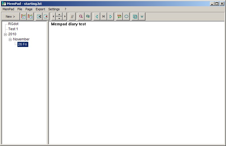MemPad: Freeware That Is A More Than A Note Organizer