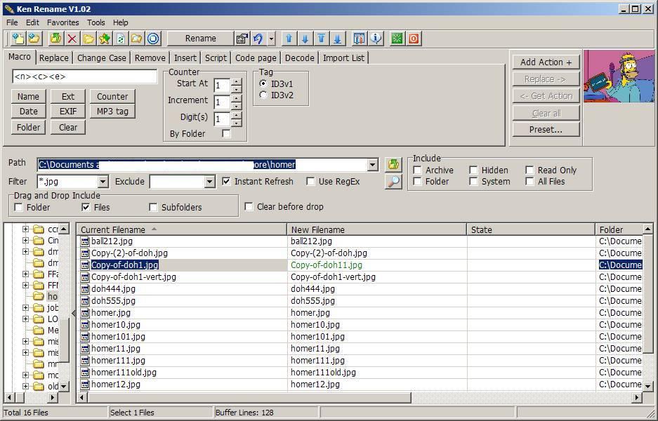 Ken Rename: Freeware Rename Utility