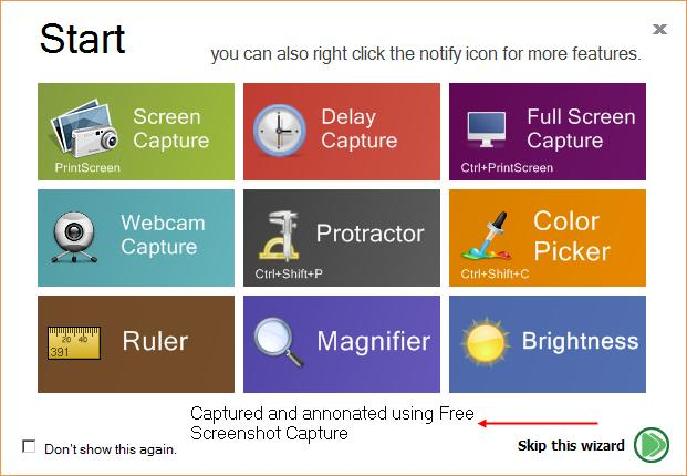 Free Screenshot Capture: Freeware Screen Grabber