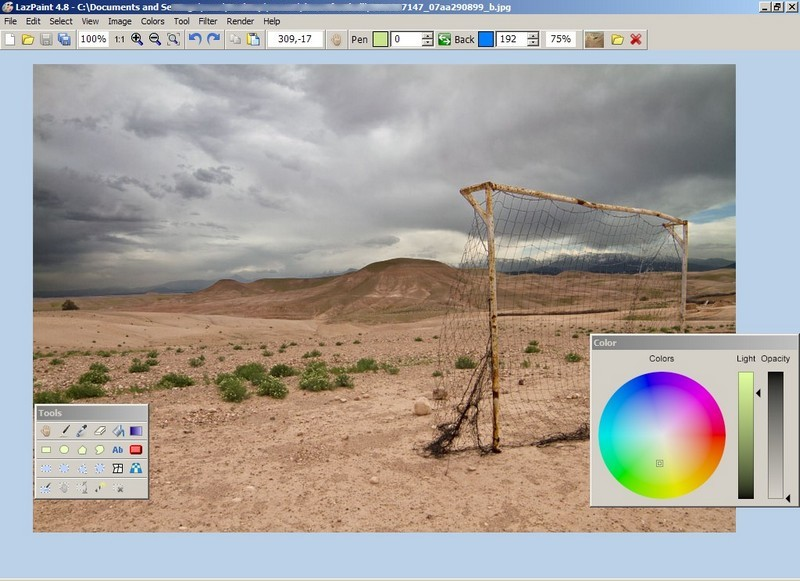 lazpaint open source graphics editor rgdot