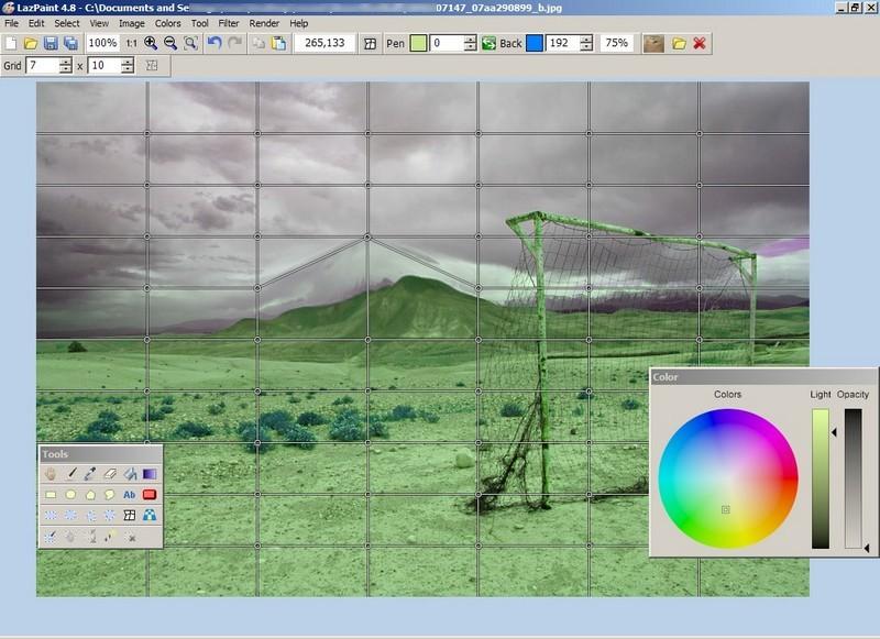 Lazpaint Open Source Graphics Editor Rgdot