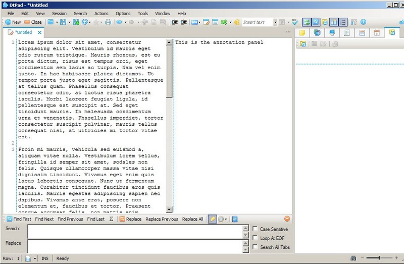 DtPad: Interesting Freeware Text Editor