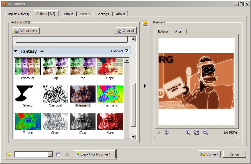 XnConvert: Freeware Image Manipulation