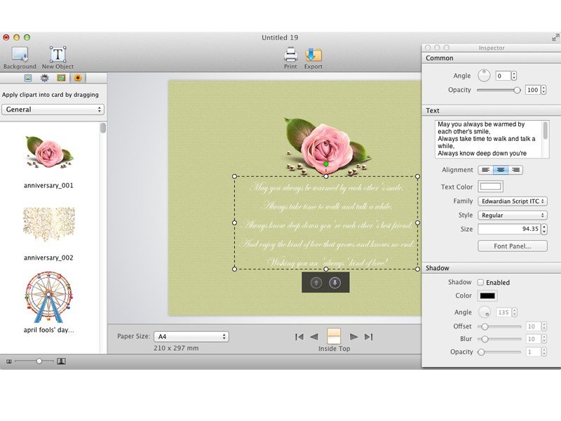 Greeting Box For Mac: Free Printable Greeting Cards