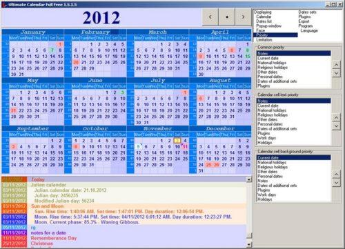 Ultimate Calendar