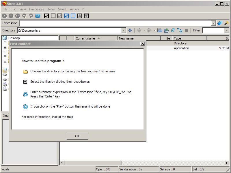 Siren: Infinite Ways To Rename And Organize Files