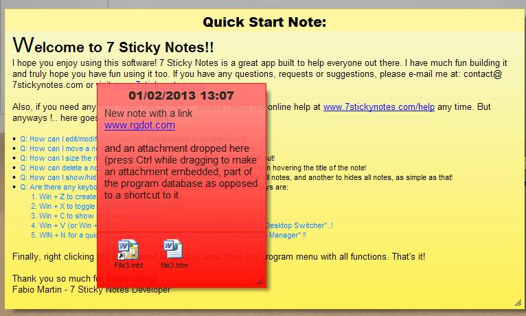 7 Sticky Notes: Probably The Most Complete Sticky Notes Program