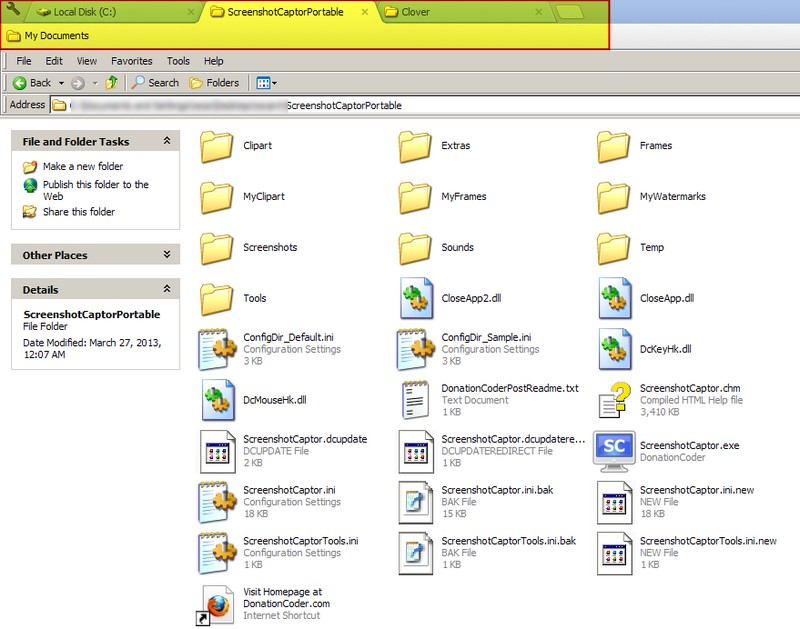 Clover: Tabs For Windows Explorer