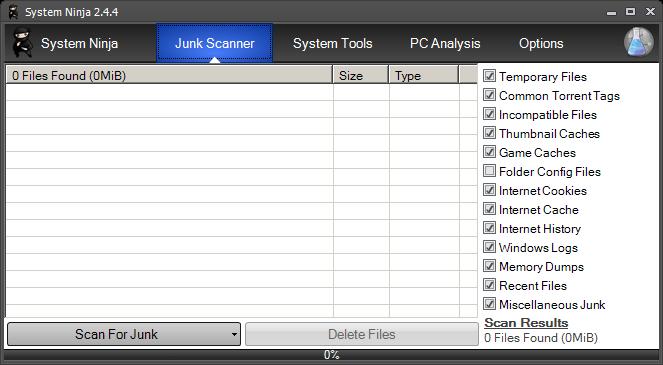 System Ninja: Info And Optimization
