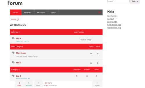 wpForo: Forums For WordPress Powered Sites