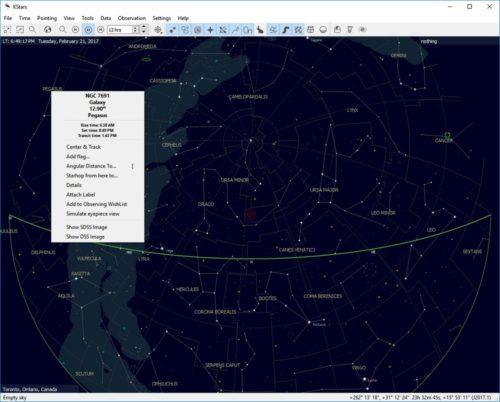 Freeware Astronomy With KStars