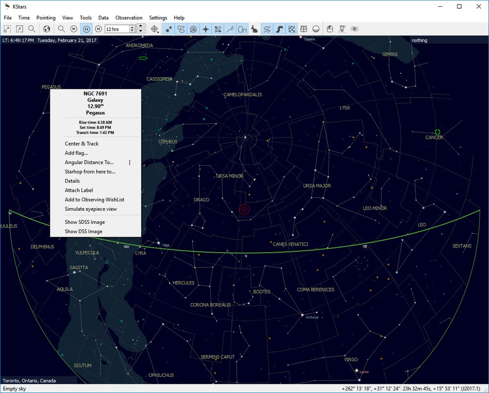Freeware Astronomy With KStars