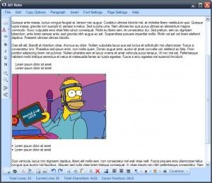 AH Note Freeware Notepad Alternative