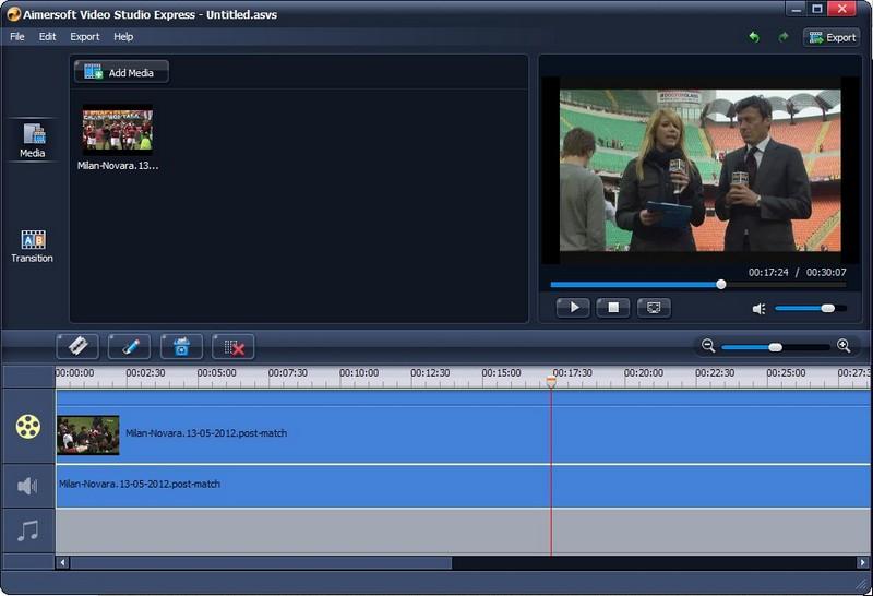 Aimersoft Video Studio Express