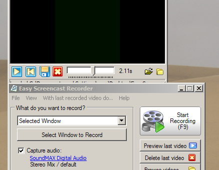 Easy Screencast Recorder