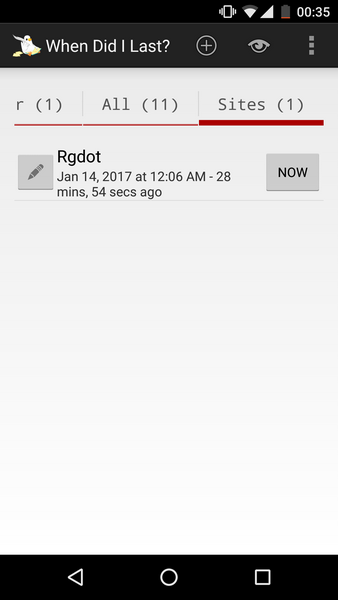 When Last Android App